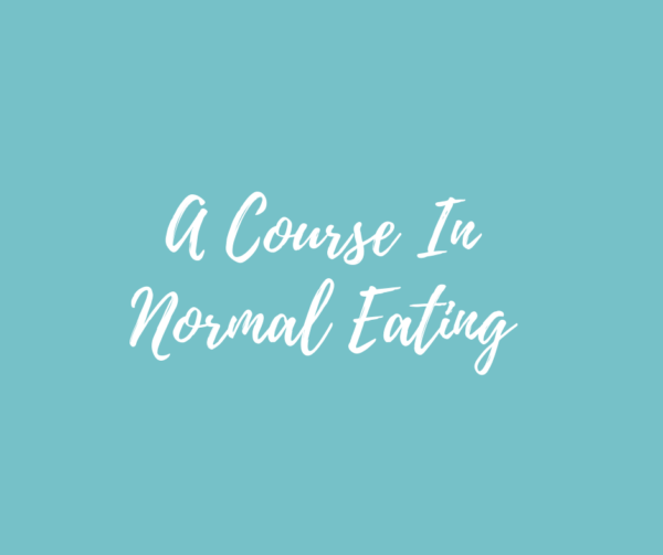 Intuitive Eating Program